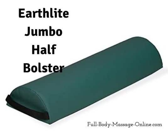 Earthlite Jumbo Half Bolster for massage therapy
