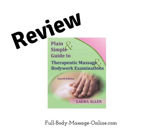 Review_Plain Simple Guide to Therapeutic Massage and Bodywork Examinations book