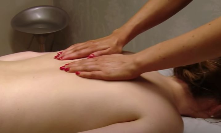 Complete the Massage With Some Effleurage Strokes